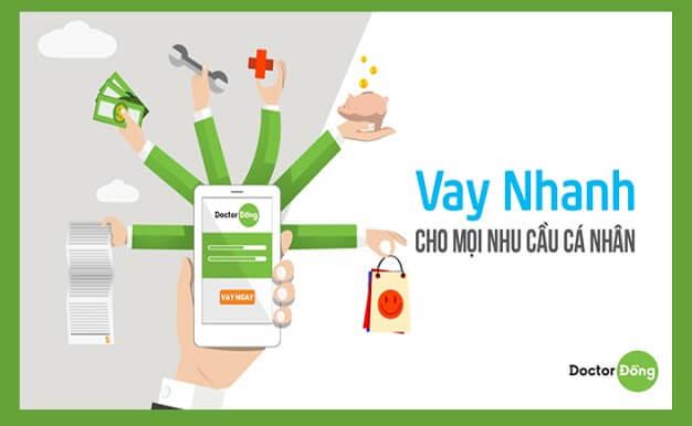 ứng dụng vay tiền online Doctor Đồng