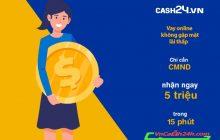 vay tiền online tại Cash24