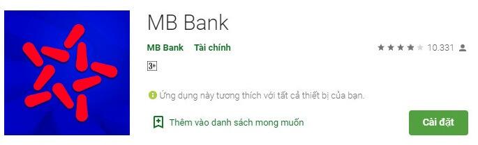 Hướng dẫn cài app mb bank