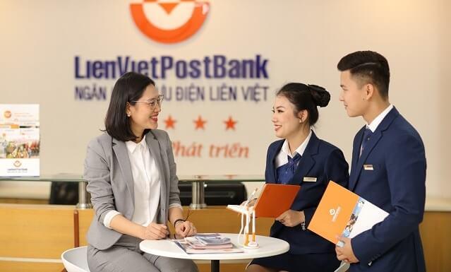 vay tiền mặt tại bưu điện Liên Việt Post Bank