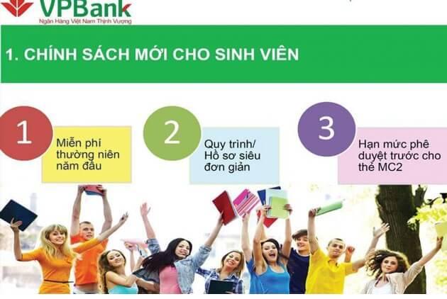 vay tiền sinh viên tại VpBank